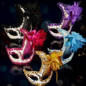 New Adult Children Crescent Moon Masquerade